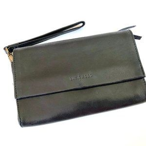 Day & Mood Leather Wallet Wristlet